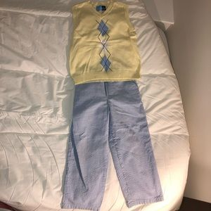 Goodlad boys pants and vest set